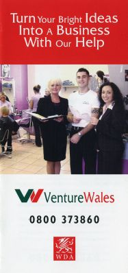 Advertising Brochure for Venture Wales