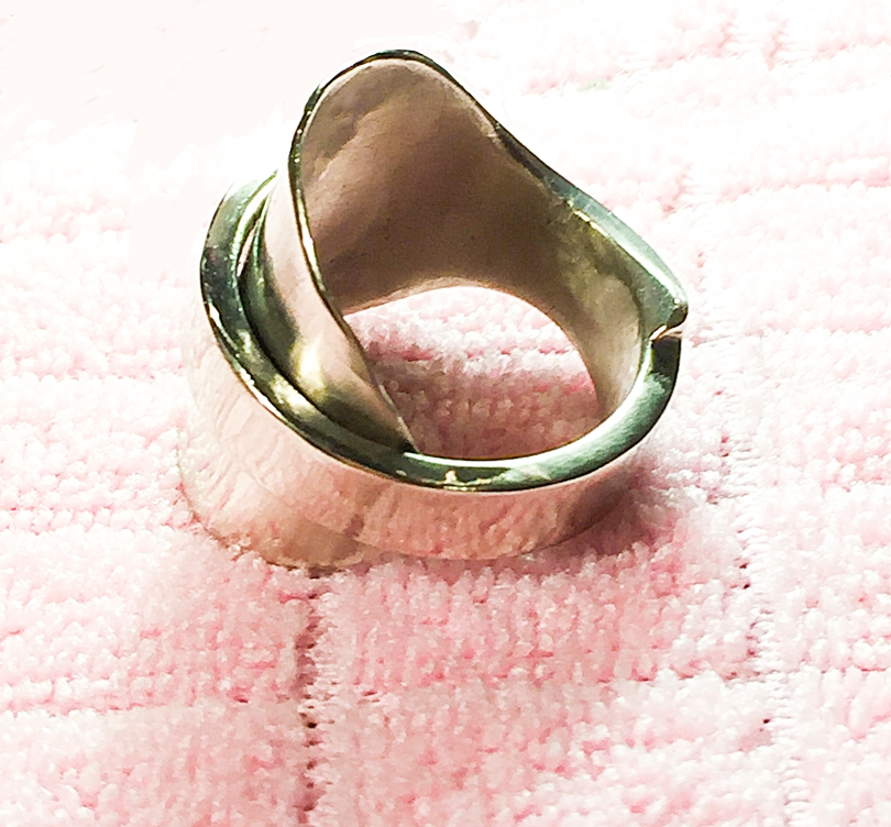 Silver Plate Spoon Ring