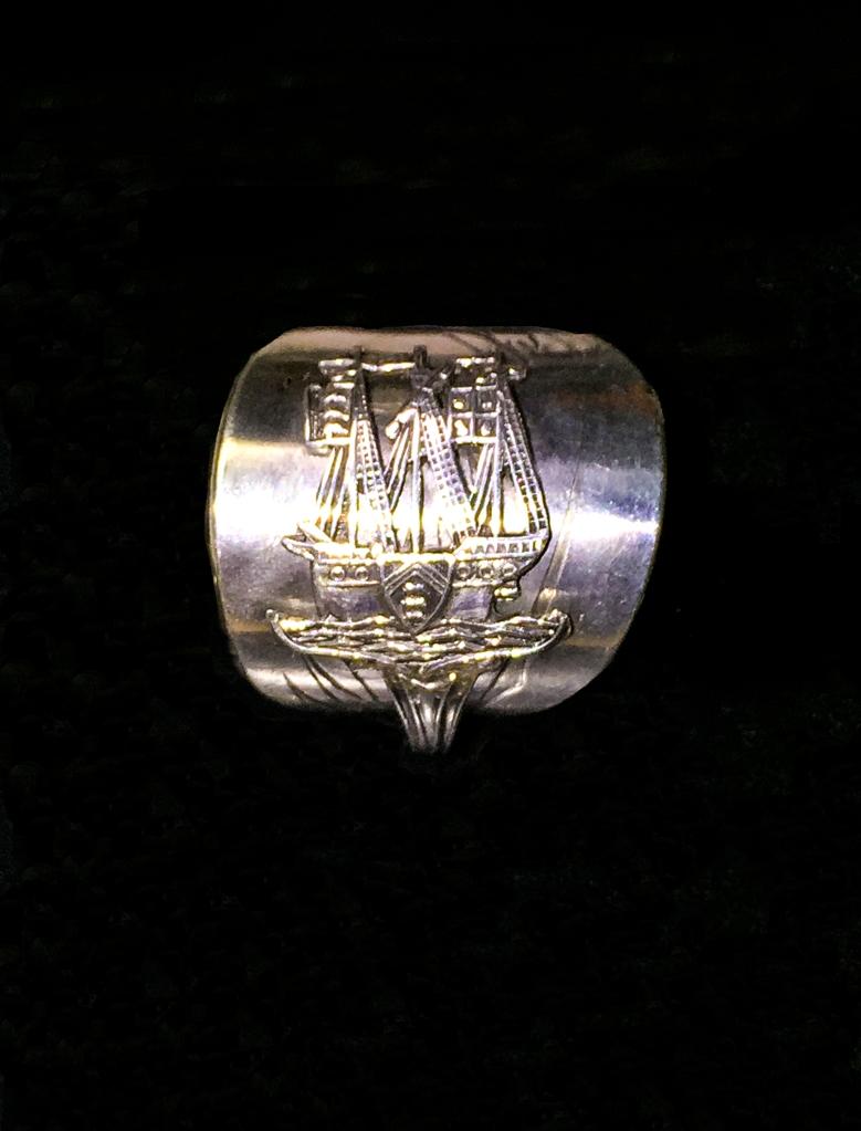 Weymouth_Sailing_Rig_Silver_Ring